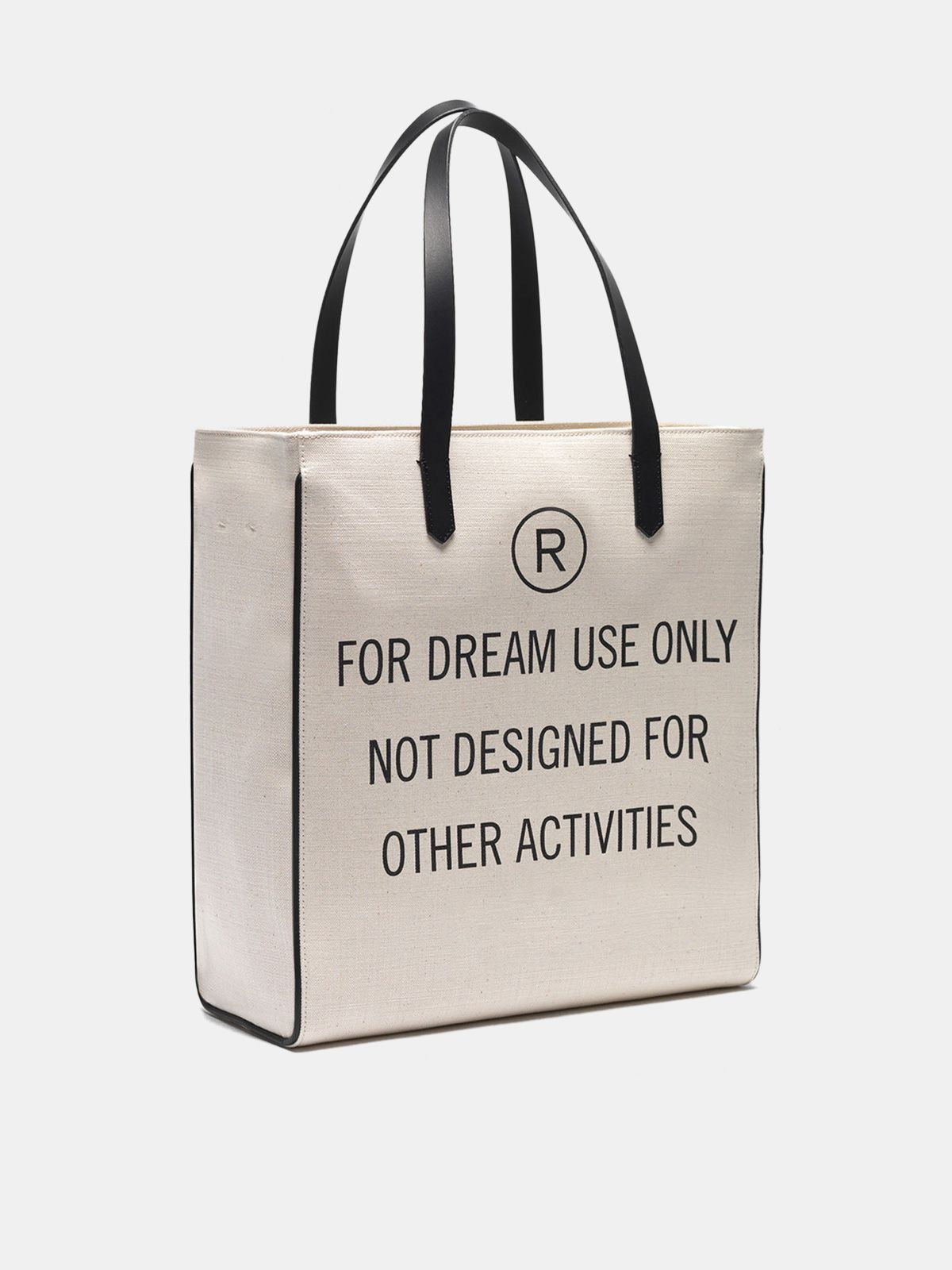 "Golden Goose - ""For dream use only"" North-South California Bag in"