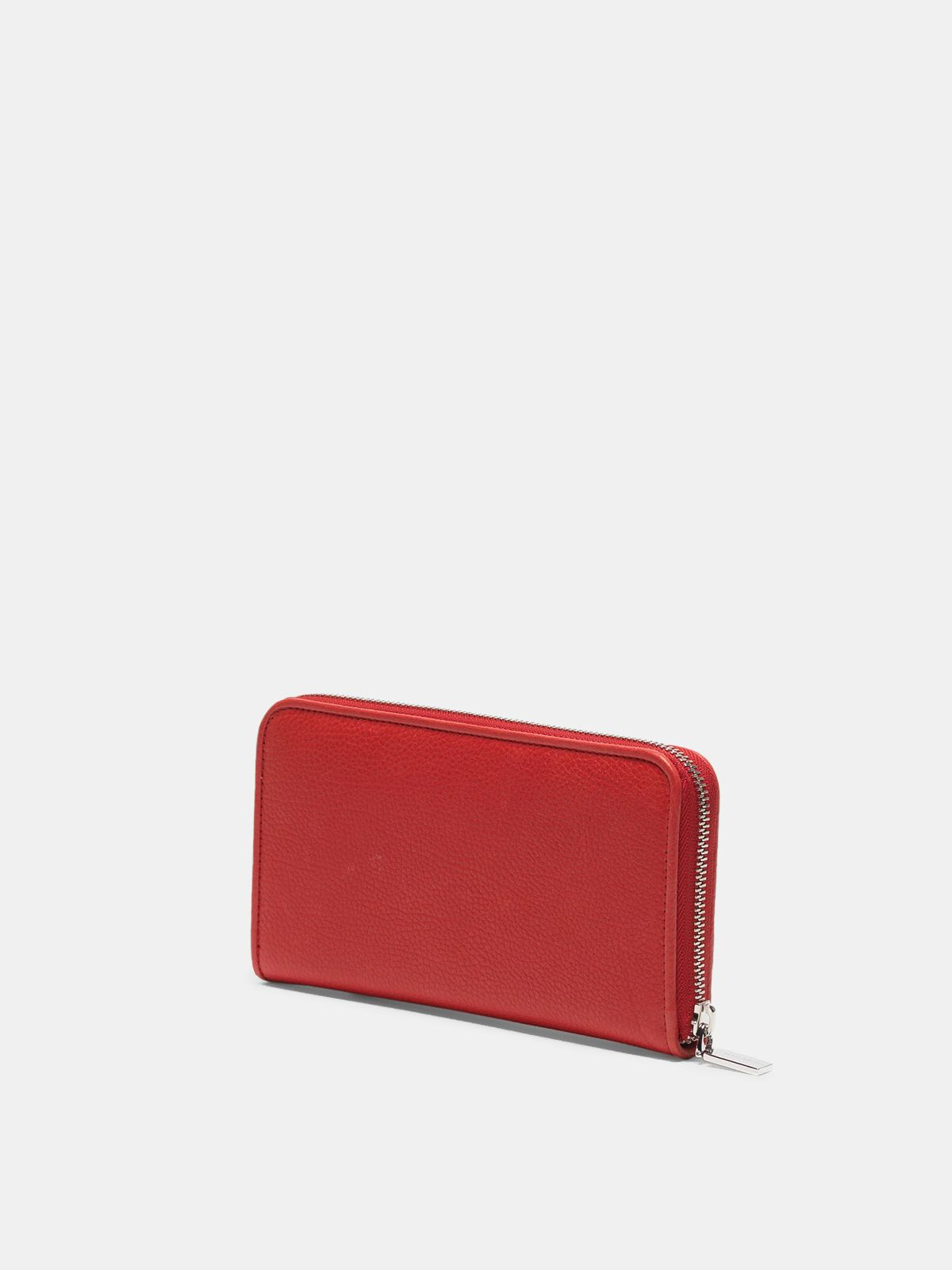 Golden Goose - Large red Star Wallet   in