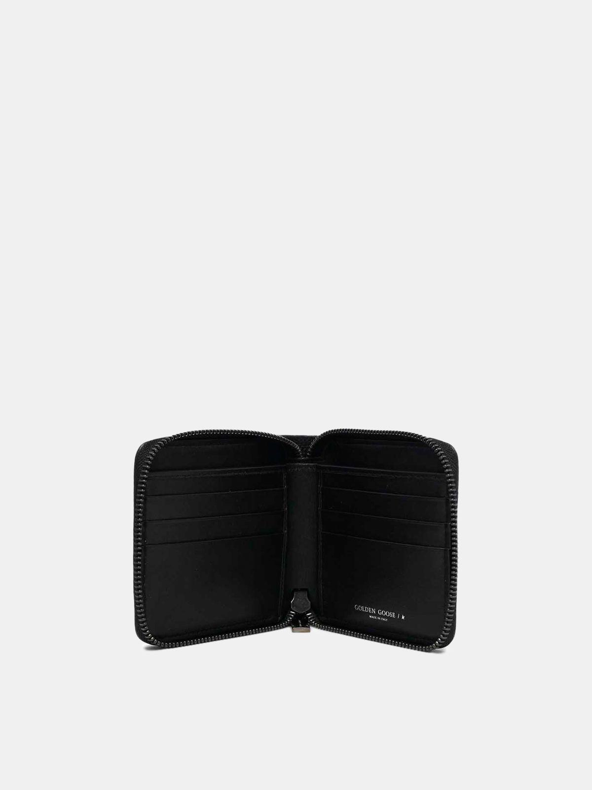 Golden Goose - Medium black Star Wallet in