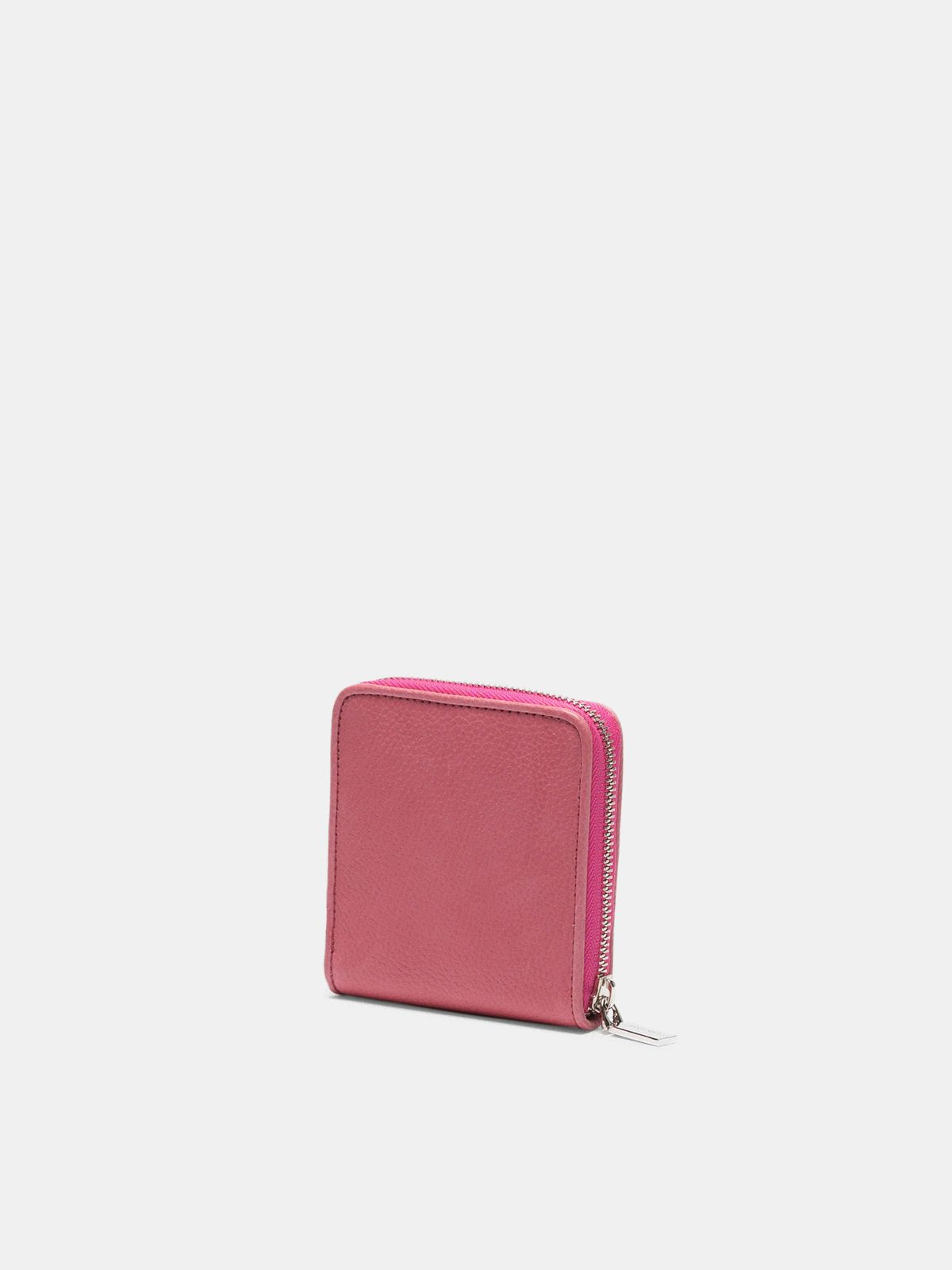 Golden Goose - Cartera Star Wallet medium rosa in
