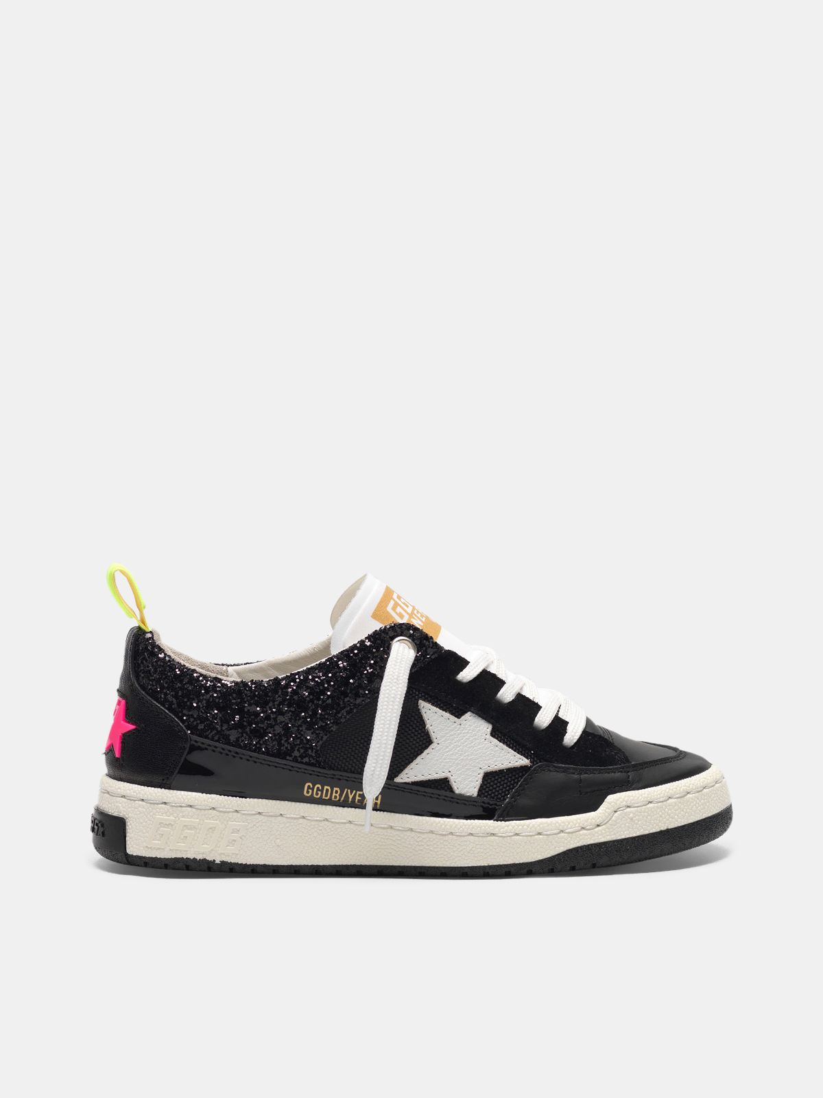 Golden Goose - Sneakers Yeah! nere con stella bianca in