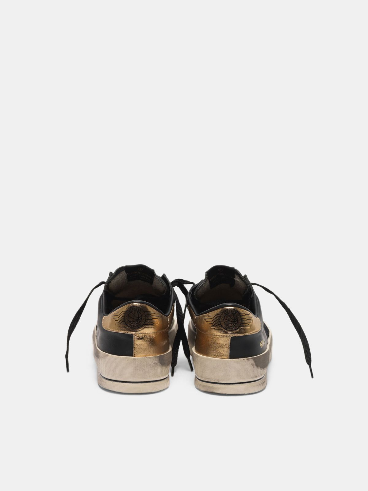 Golden Goose - Stardan sneakers in leather with mesh inserts in