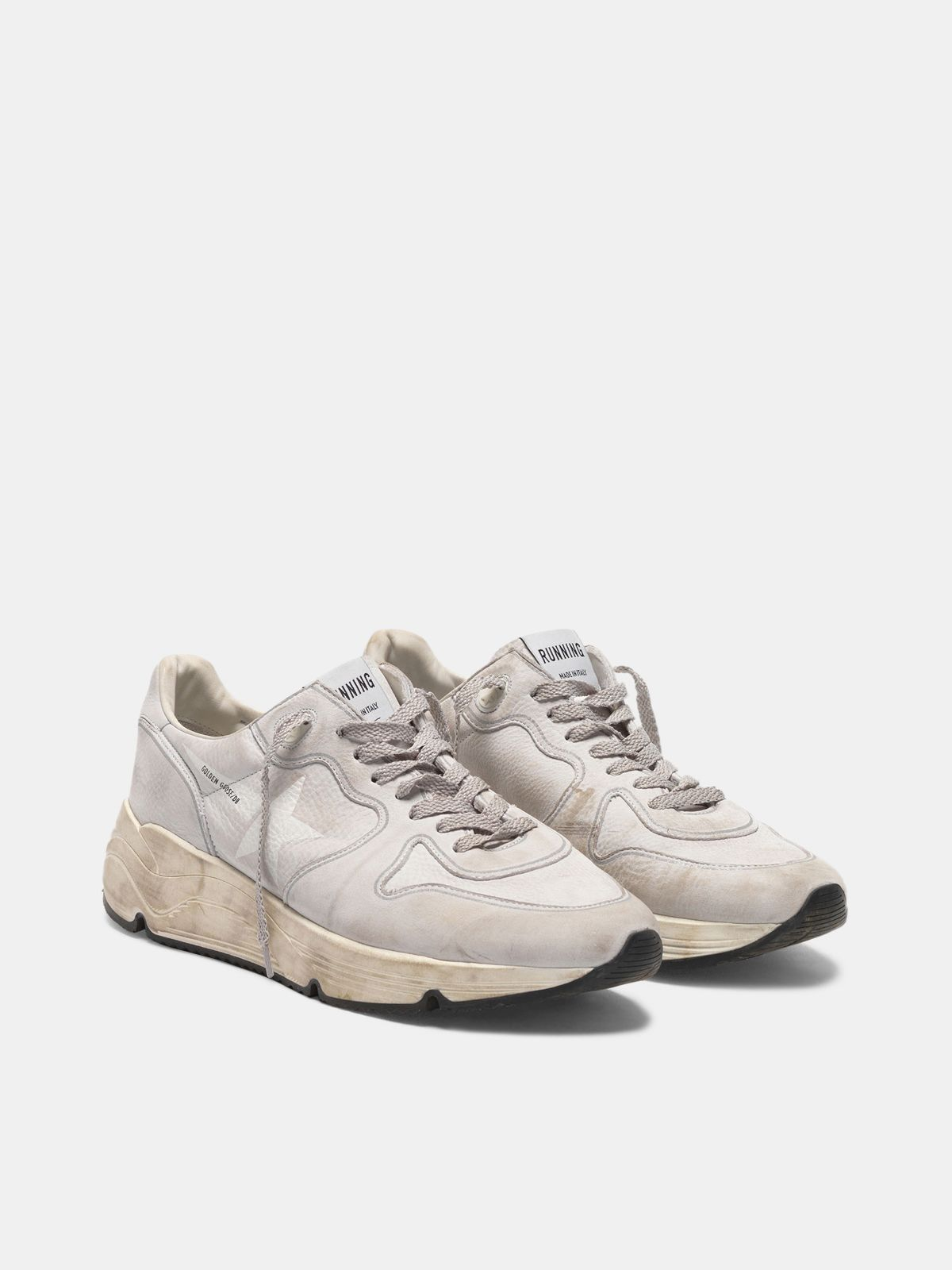 Golden Goose - Running Sole sneakers in nubuck in