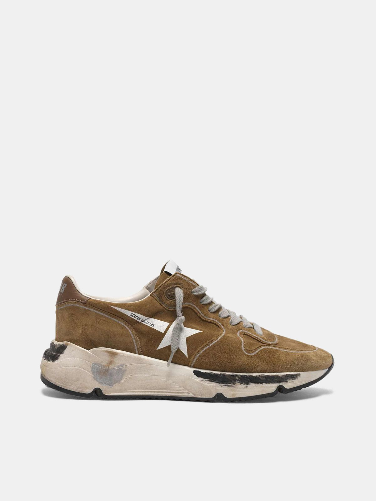 Golden Goose - Running Sole sneakers in suede with white star in