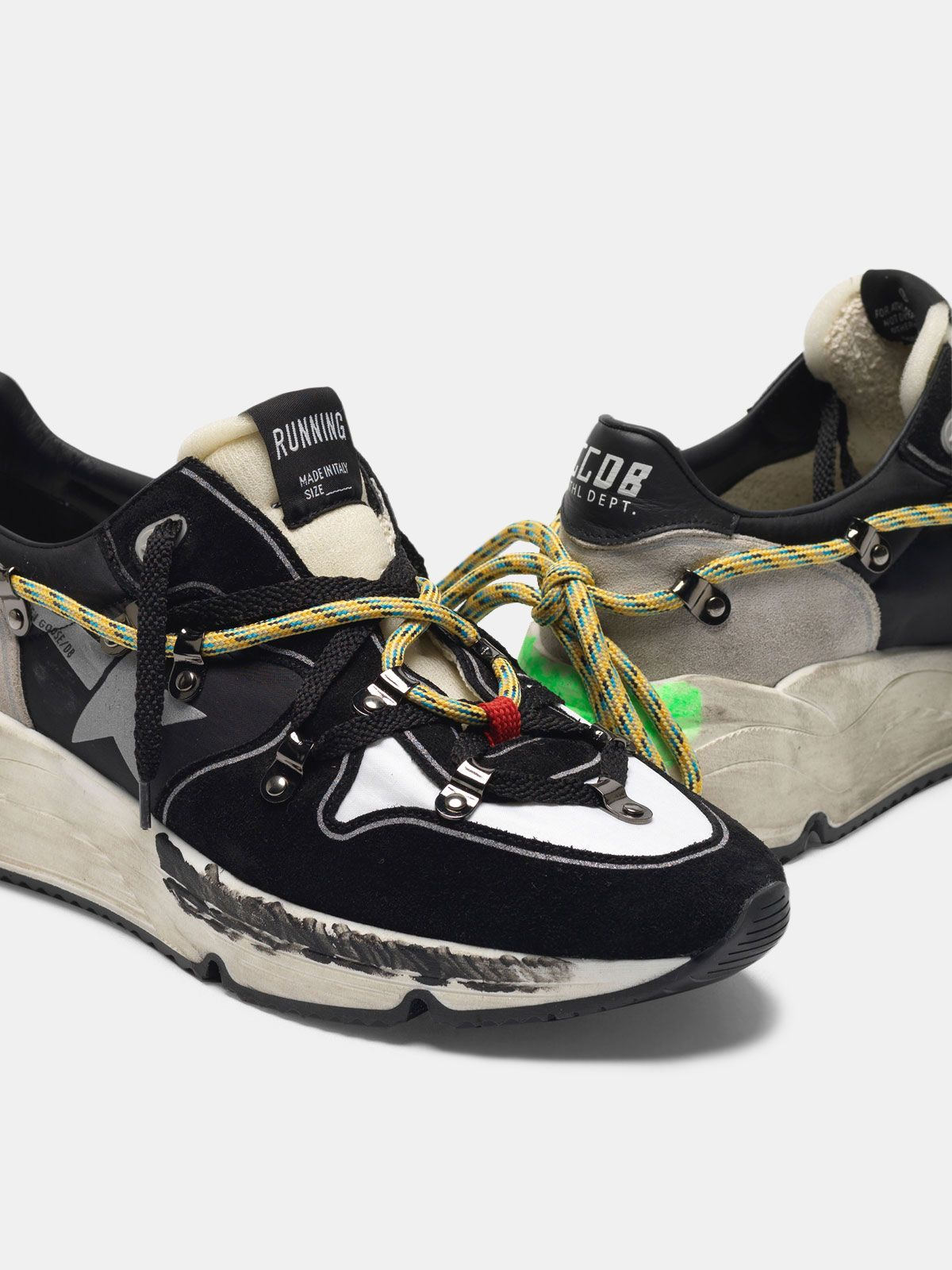 Golden Goose - Running Sole sneakers in suede with double laces in
