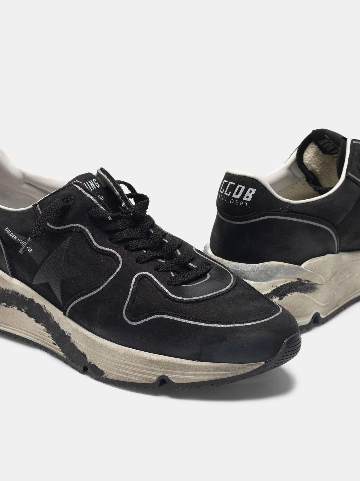 Golden Goose - Running Sole sneakers in nubuck in