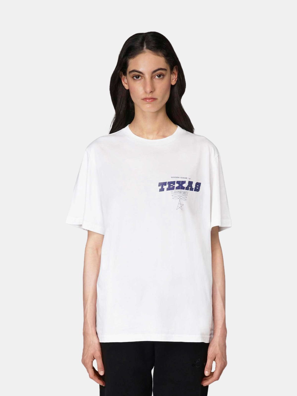 Golden Goose - T-shirt Texas Travel Guide in