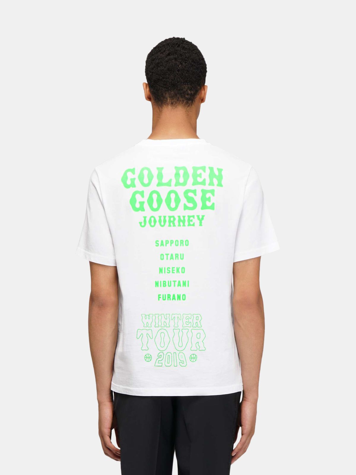 Golden Goose - T-shirt Hokkaido Travel Guide in