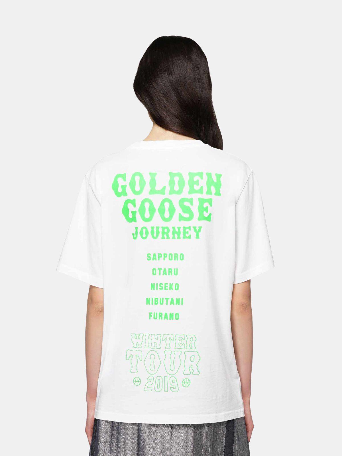 Golden Goose - Hokkaido Travel Guide T-shirt in