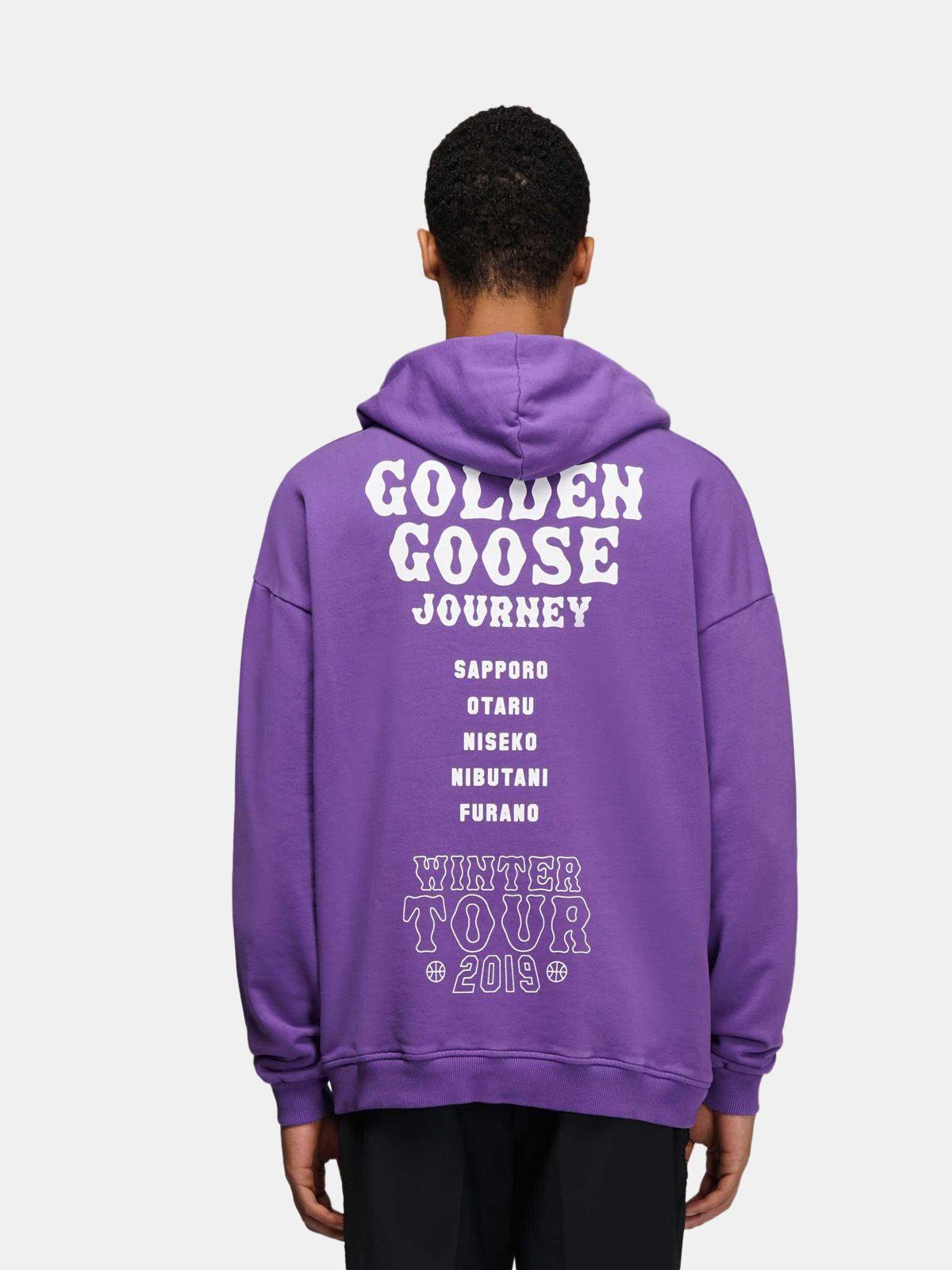 Golden Goose - Hokkaido Travel Guide sweatshirt in