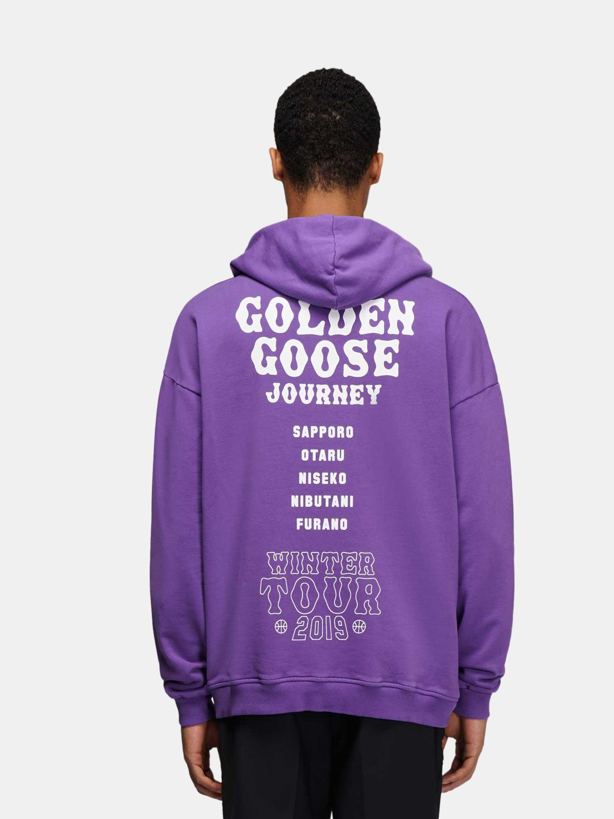 Golden Goose - Felpa Hokkaido Travel Guide in