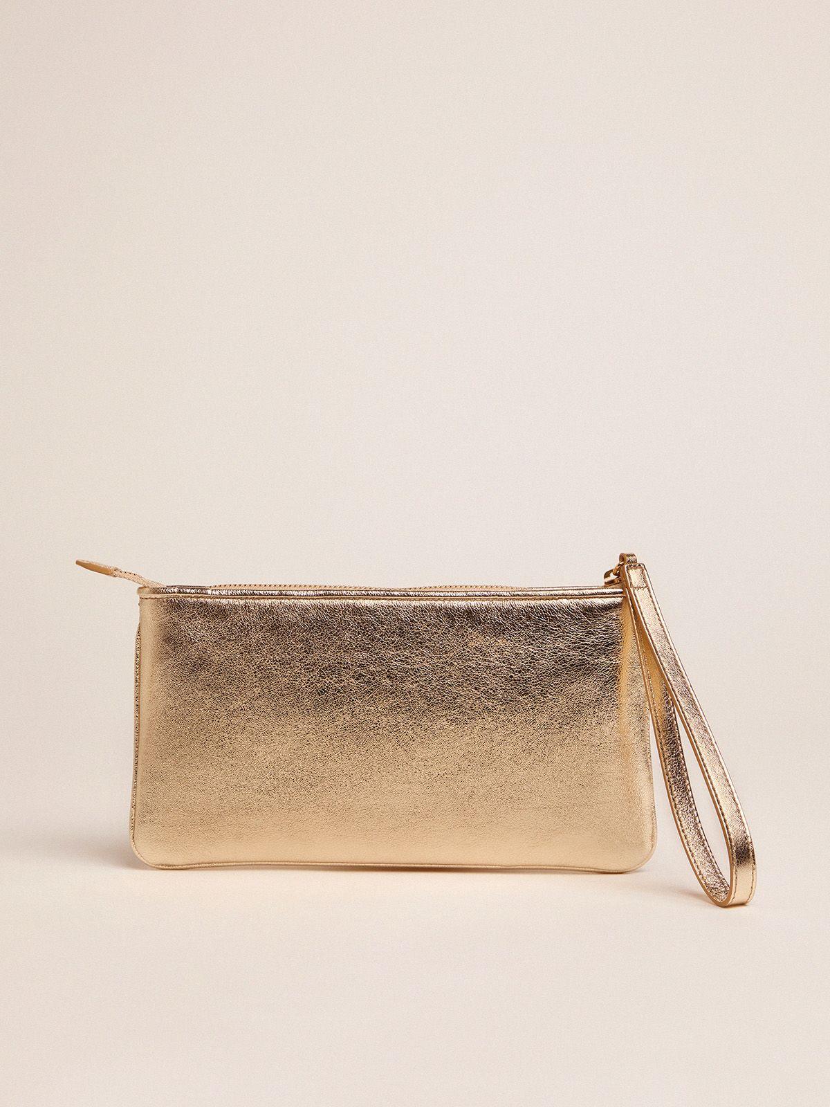 Golden Goose - Silver Star Wrist clutch bag in