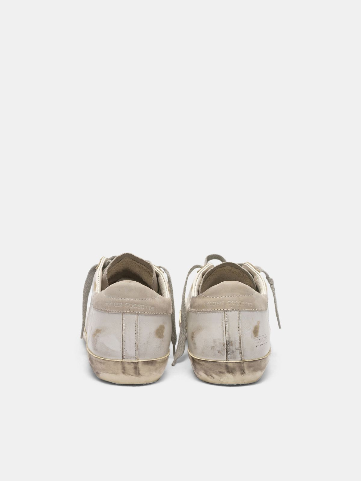 Golden Goose - Super-Star sneakers in suede leather with perforated star in