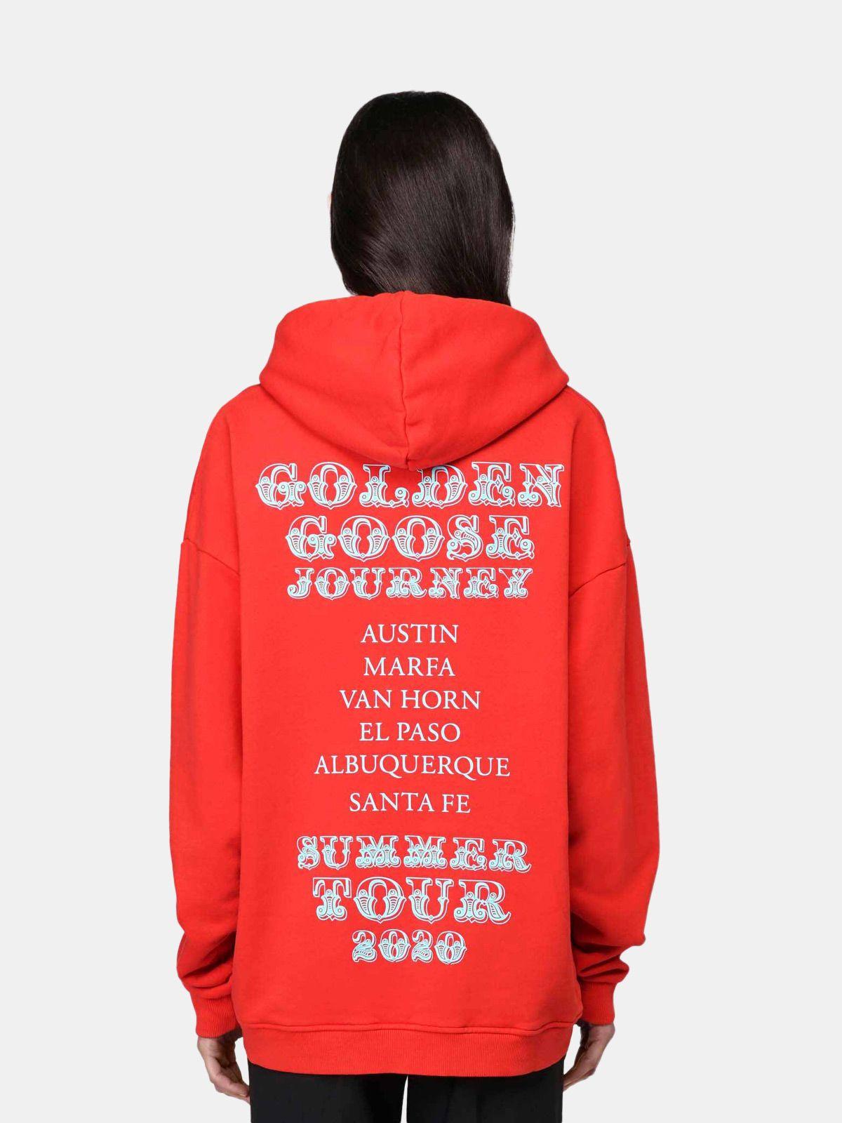 Golden Goose - Felpa Texas Travel Guide in