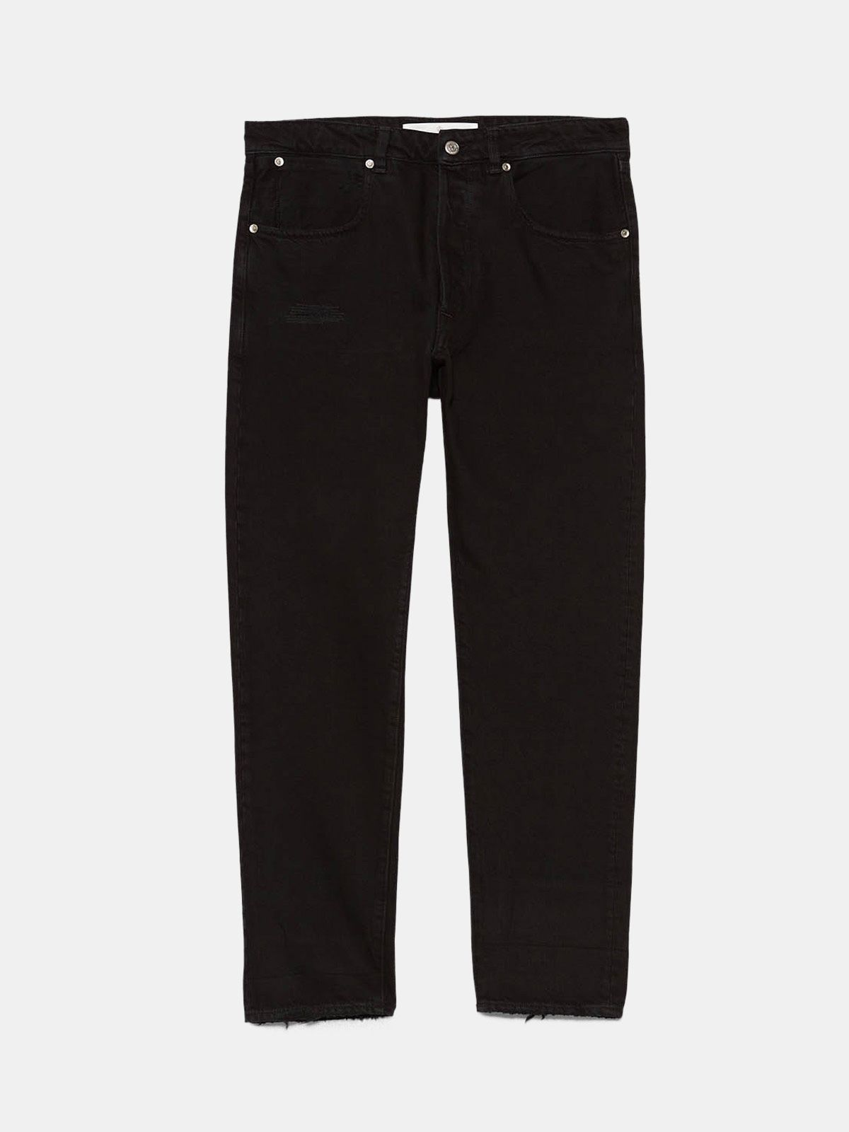 Golden Goose - Jeans Up relaxed fit in denim one wash in