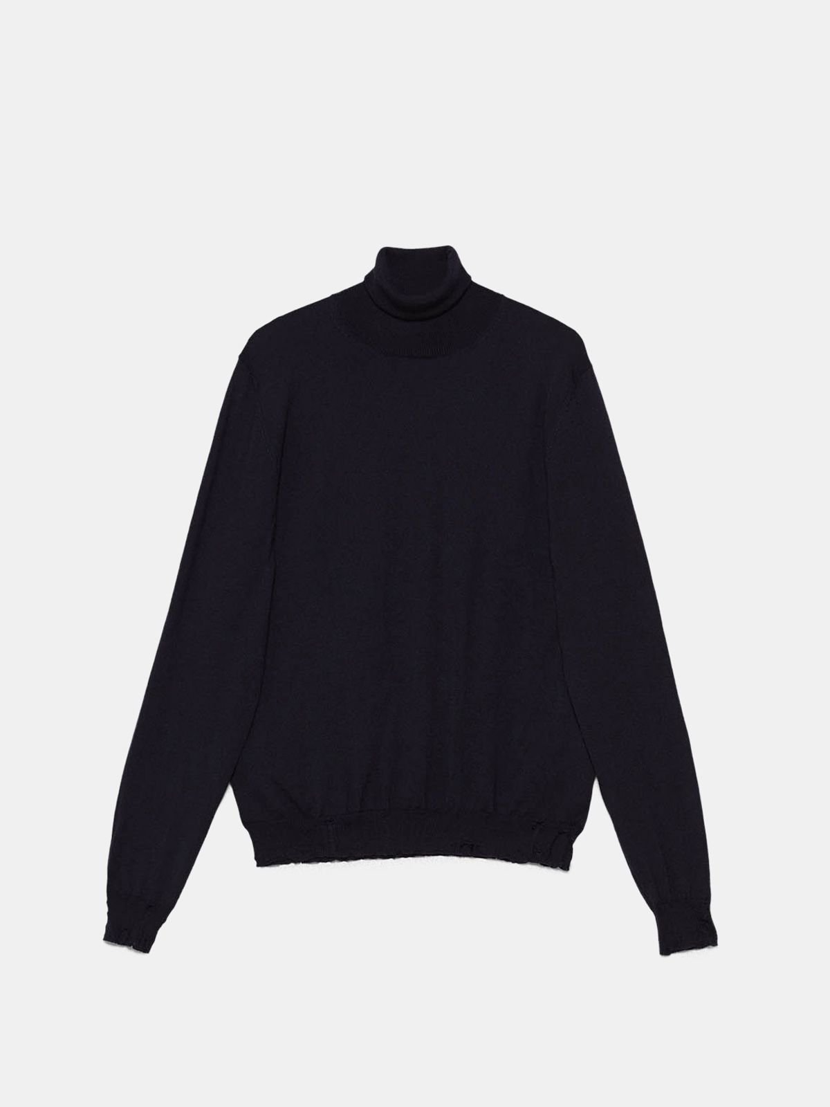 Golden Goose - Tomio turtleneck sweater in extrafine merino wool  in