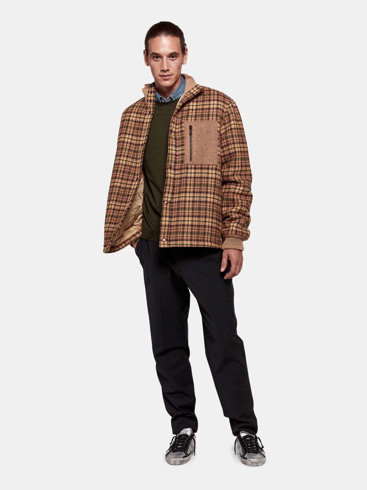 Golden Goose - Maglia girocollo Shin in lana merino extrafine in