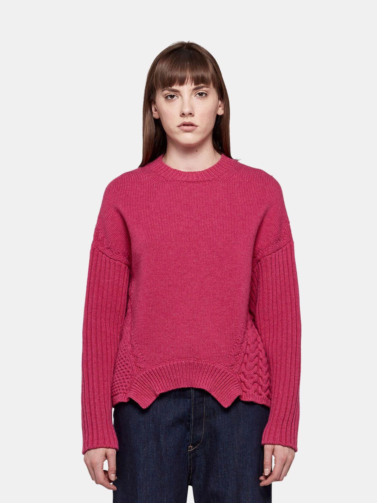 Golden Goose - Monoirobara sweater in extrafine merino wool in