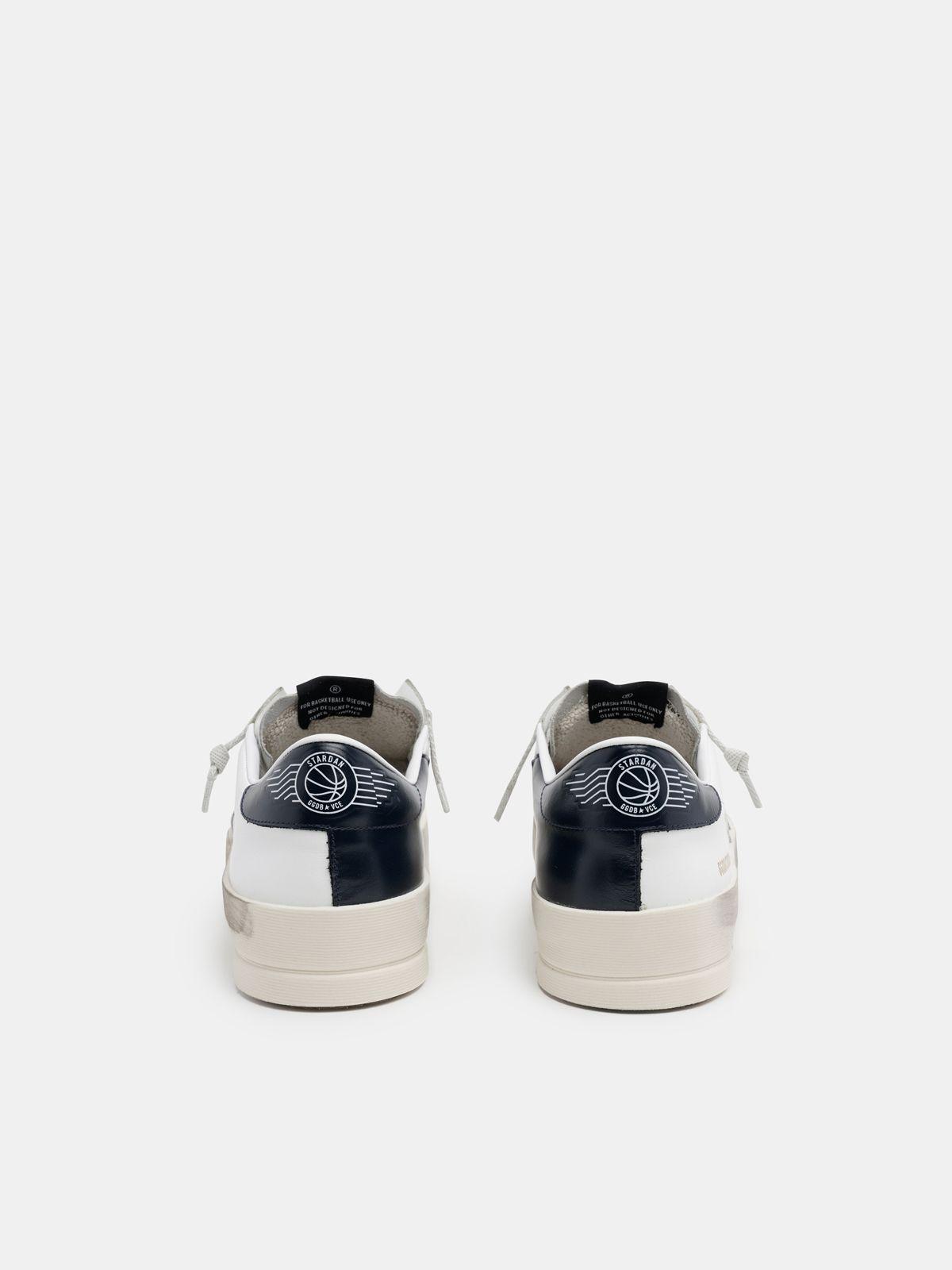 Golden Goose - Black and white Stardan sneakers in