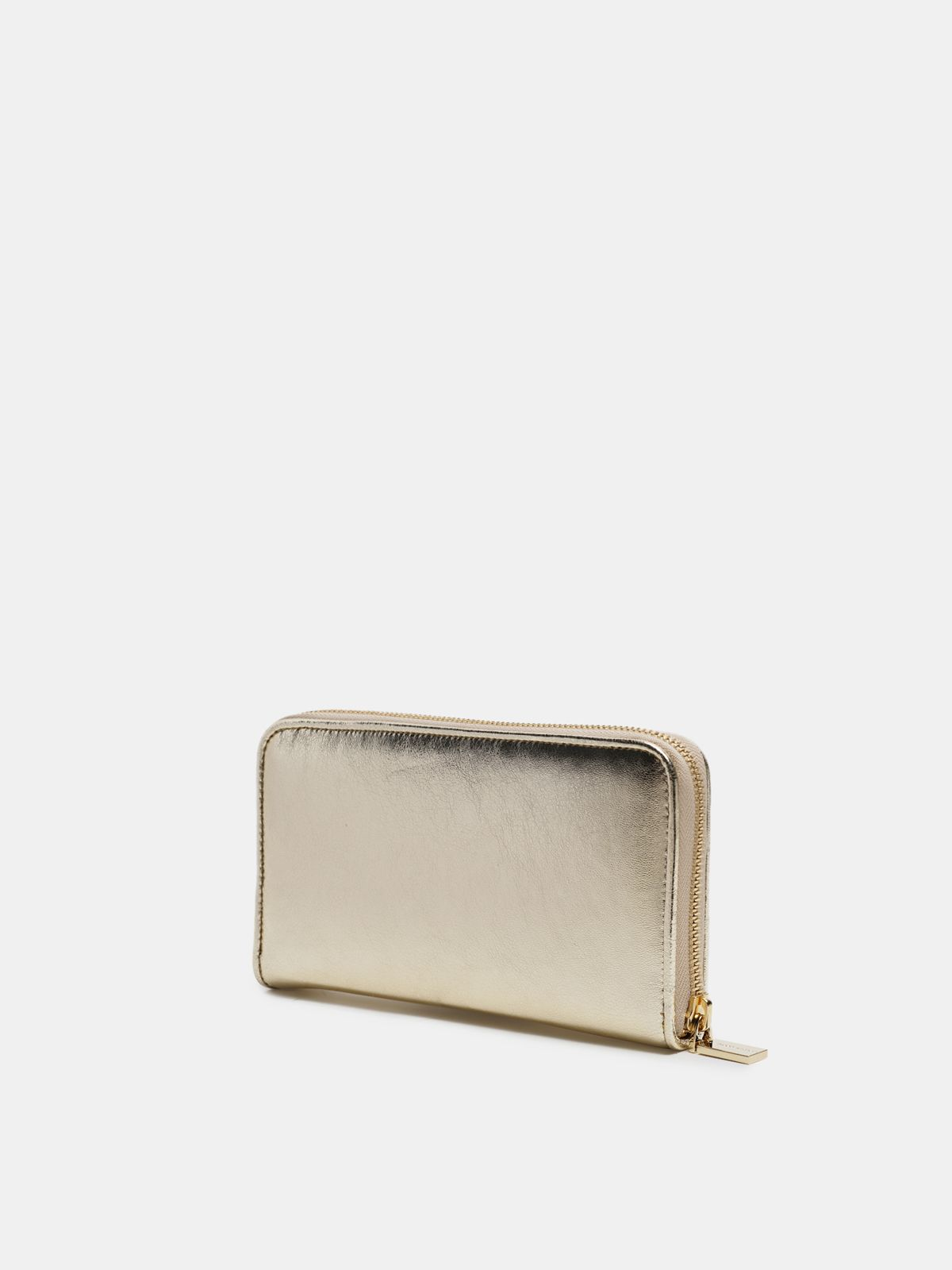 Golden Goose - Large gold Star Wallet   in