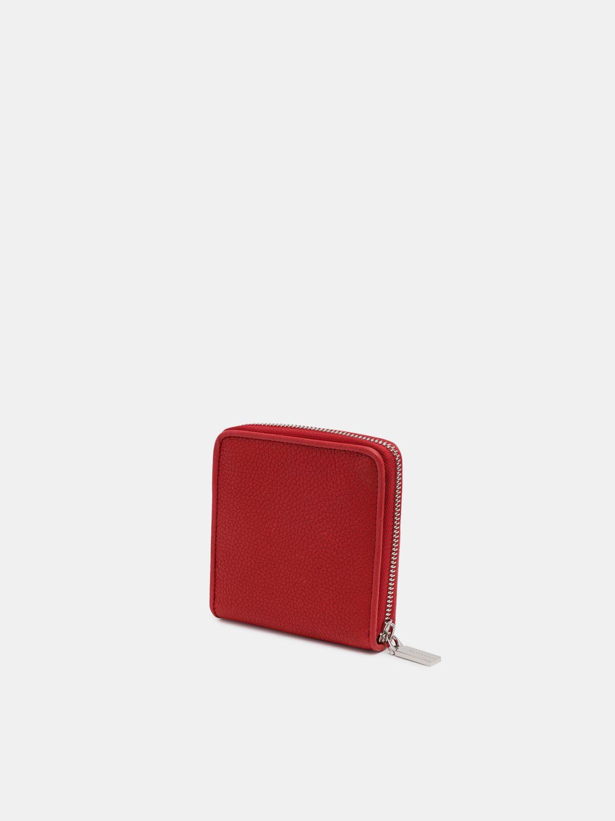 Golden Goose - Medium red Star Wallet in
