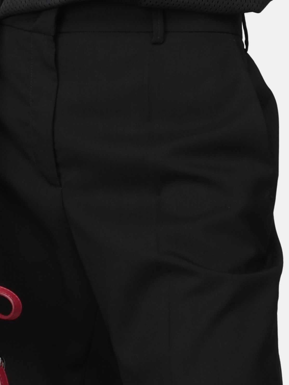 Golden Goose - Abigail black high-waist trousers in