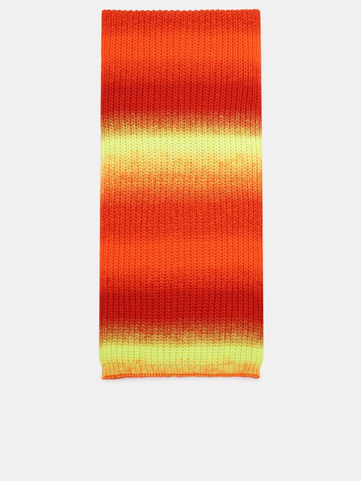 Golden Goose - April scarf in shaded wool in