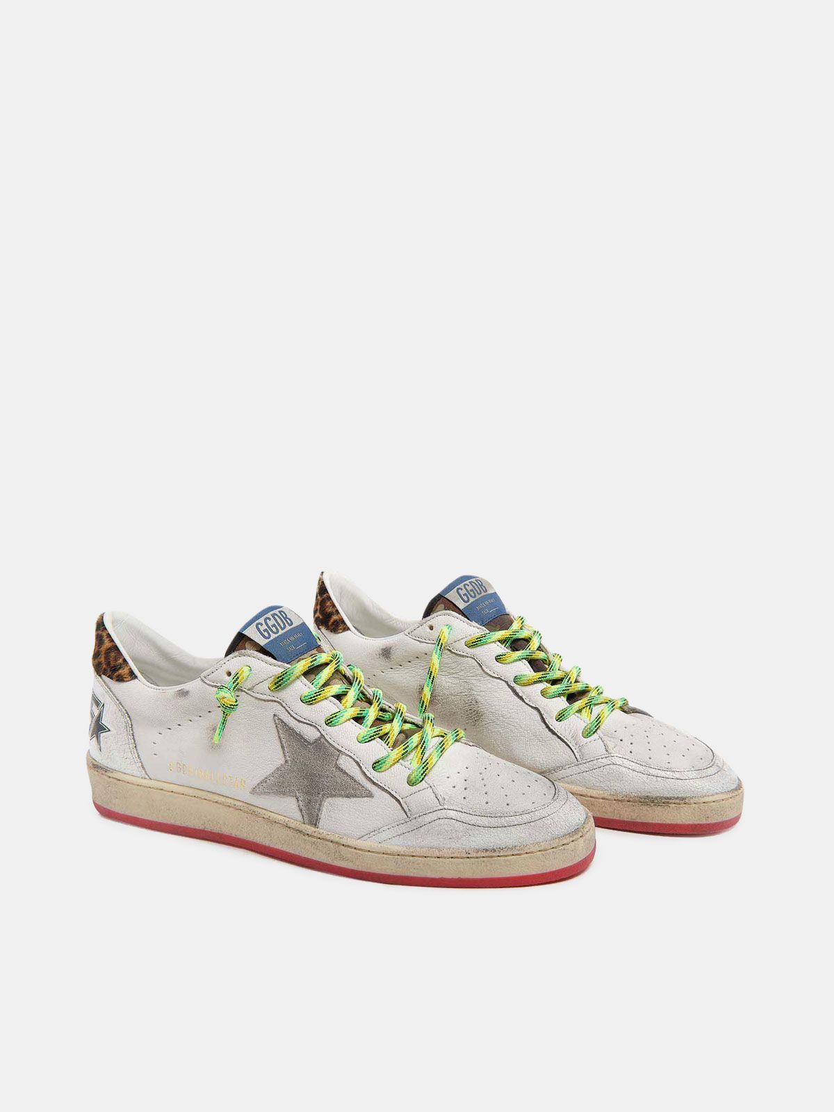 Golden Goose - Bell Star sneakers in nappa leather with trekking laces in