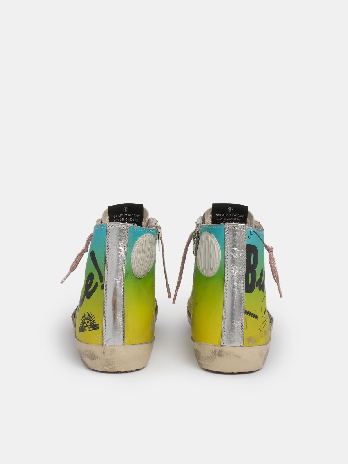 Golden Goose - Francy sneakers with Argentina print in