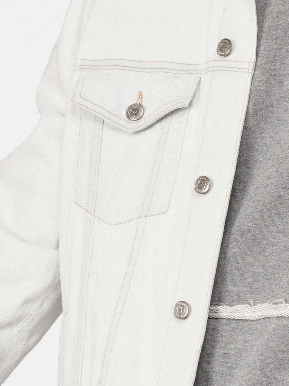 Golden Goose - Agenore jacket in pale denim in