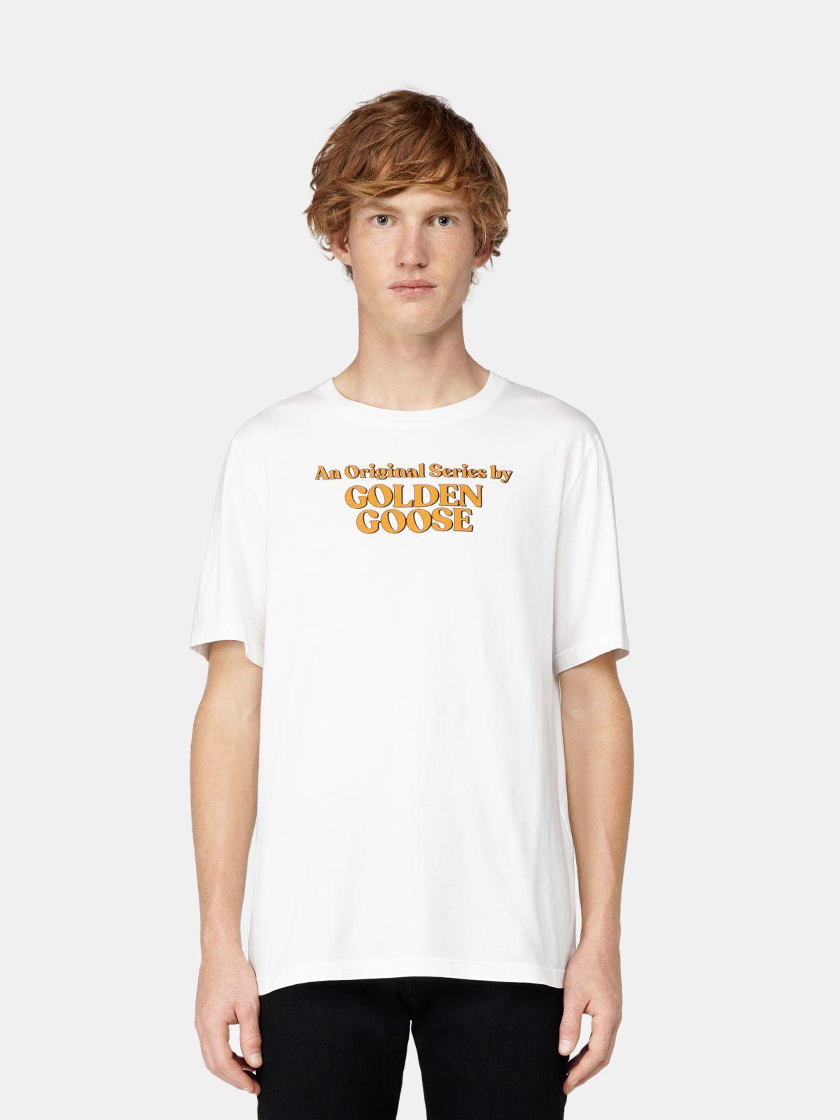 Golden Goose - Adamo T-shirt with Original Series print in