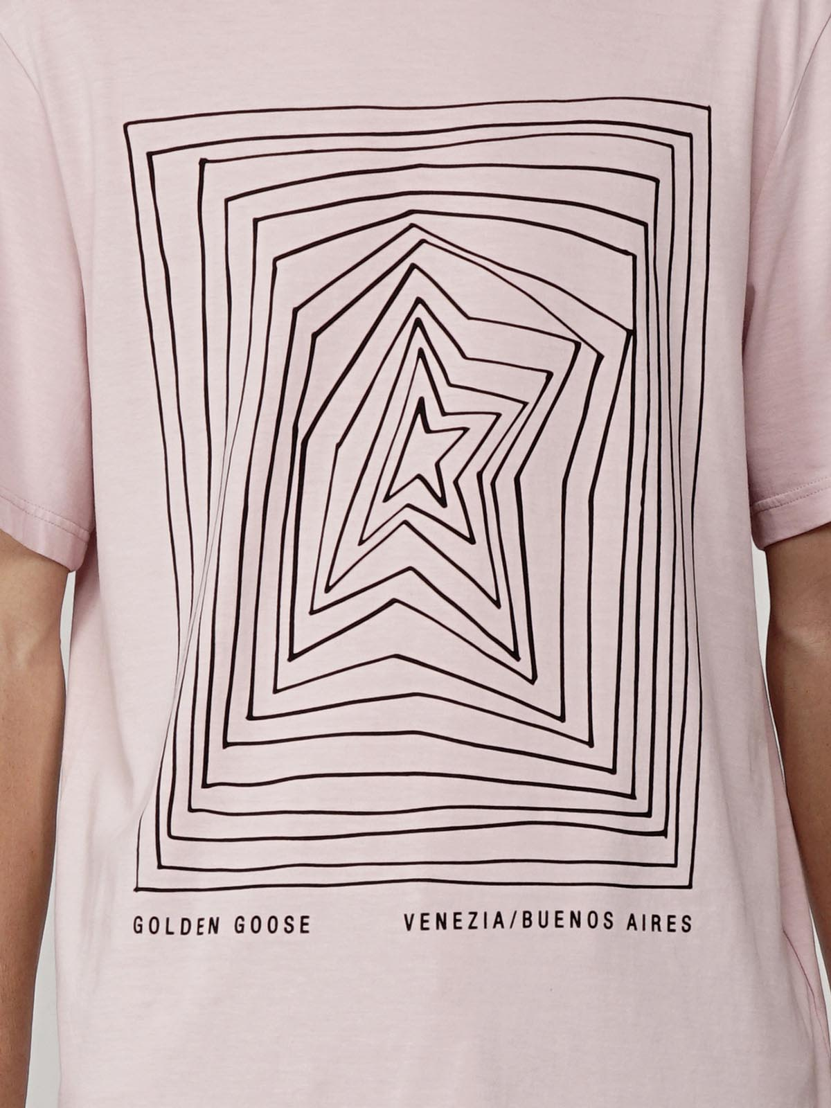 Golden Goose - Adamo T-shirt with graphic star print in