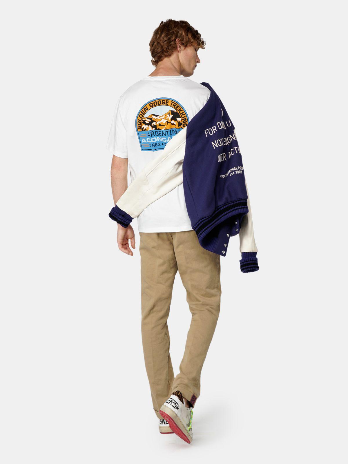 Golden Goose - Adamo T-shirt with Argentina print in