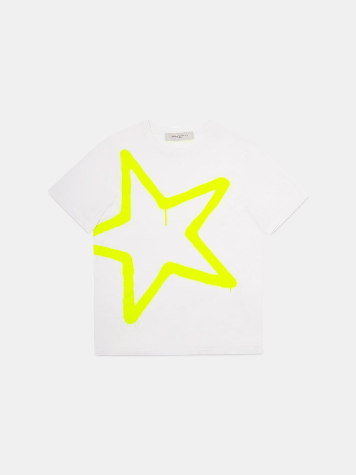 T-shirt Adamo avec imprimé grande étoile
