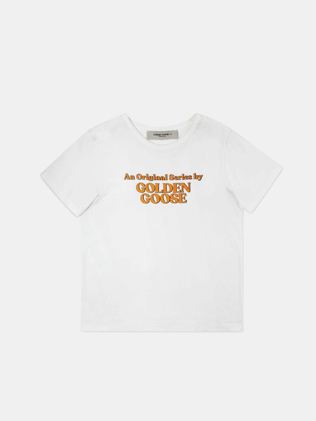 Ania white T-shirt with Original Series print