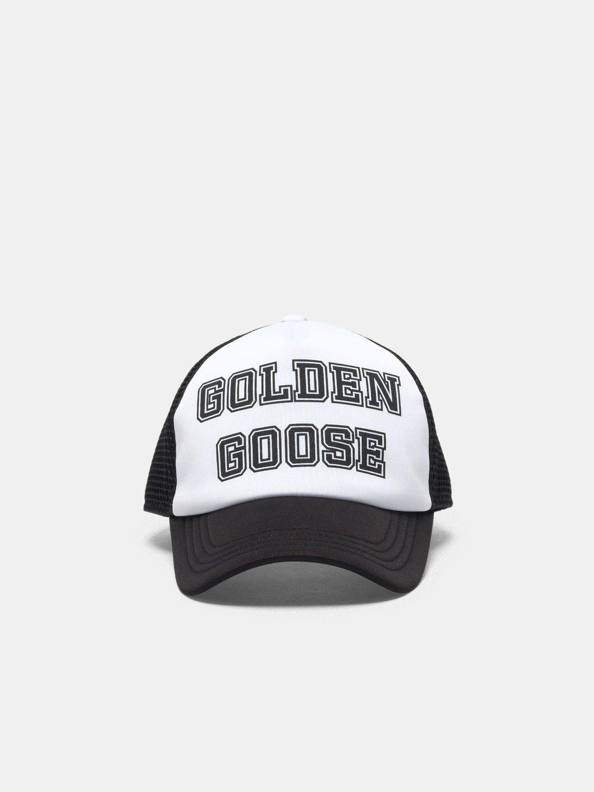 Cappello da baseball Golden con logo nero