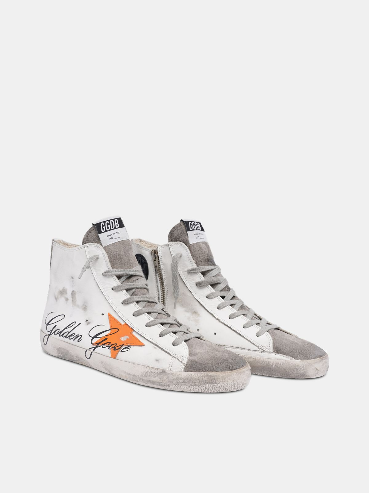 Golden Goose - Sneakers Francy con firma Golden Goose in