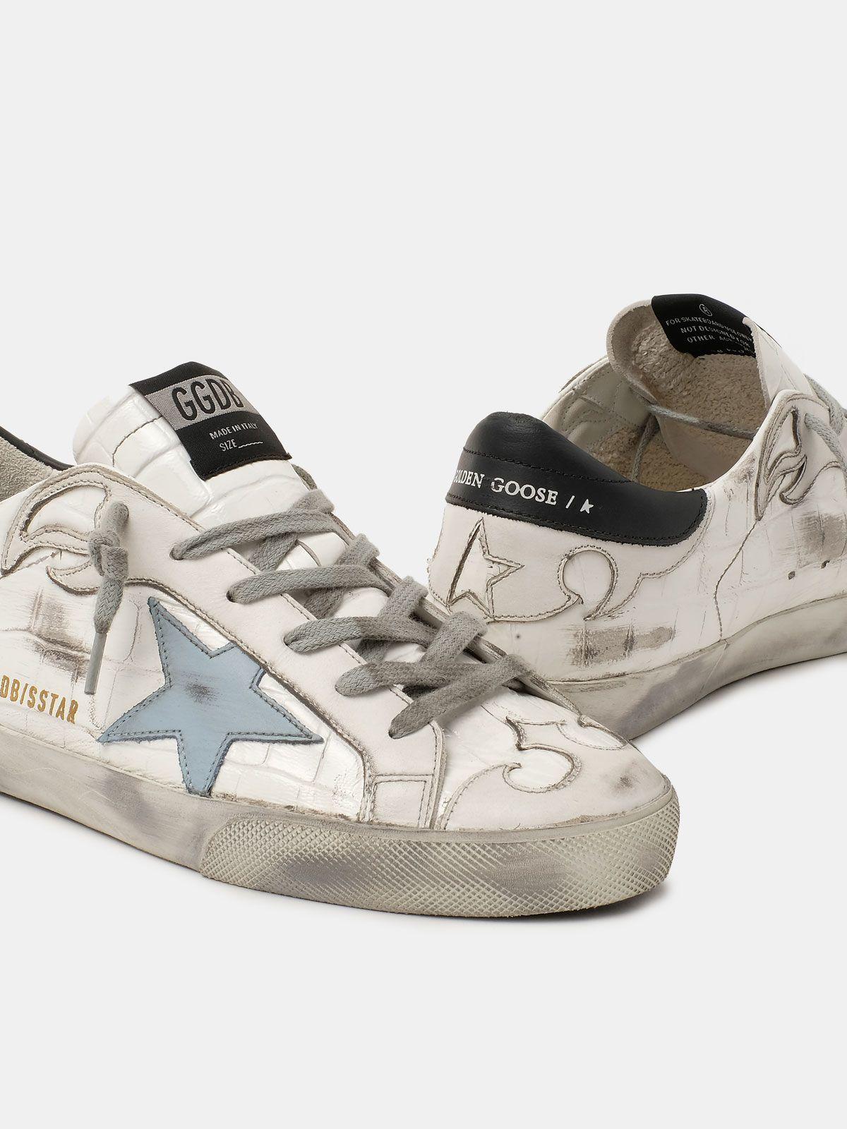 Golden Goose - Sneakers Super-Star ispirazione Texas   in
