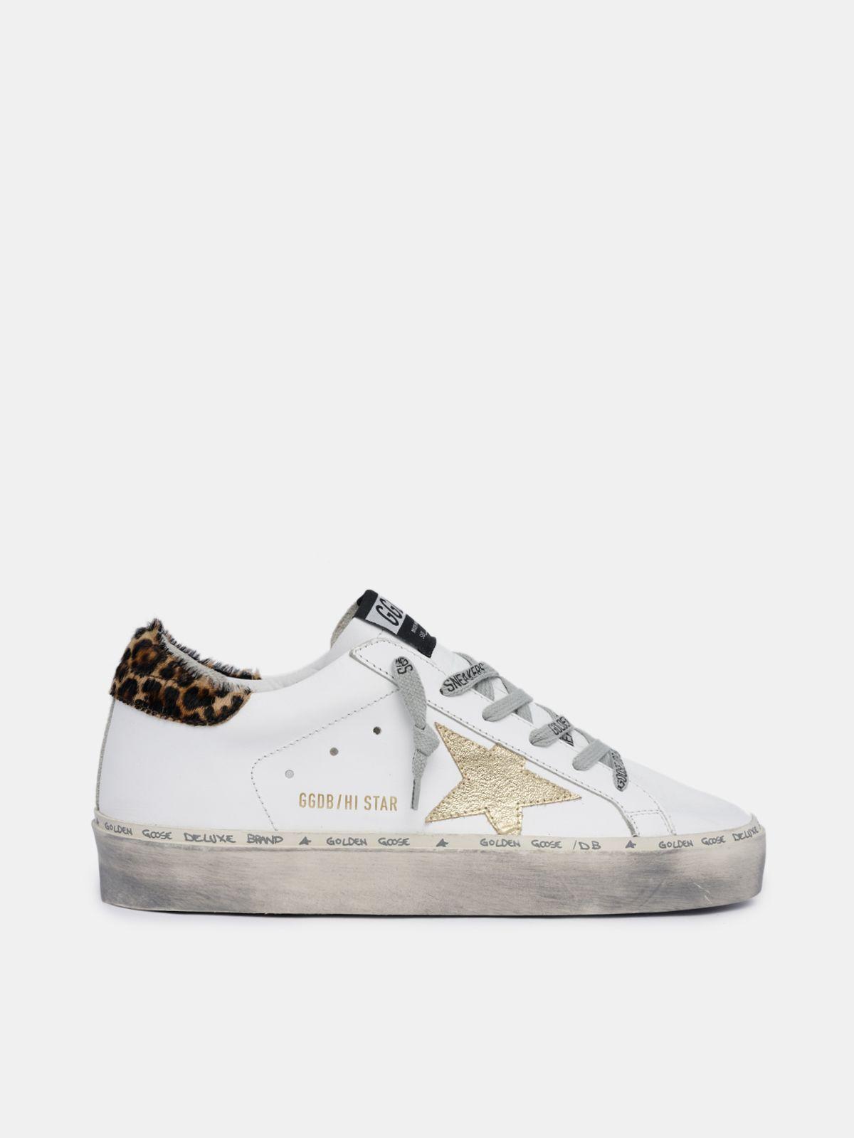 Hi Star sneakers with leopard-print heel tab