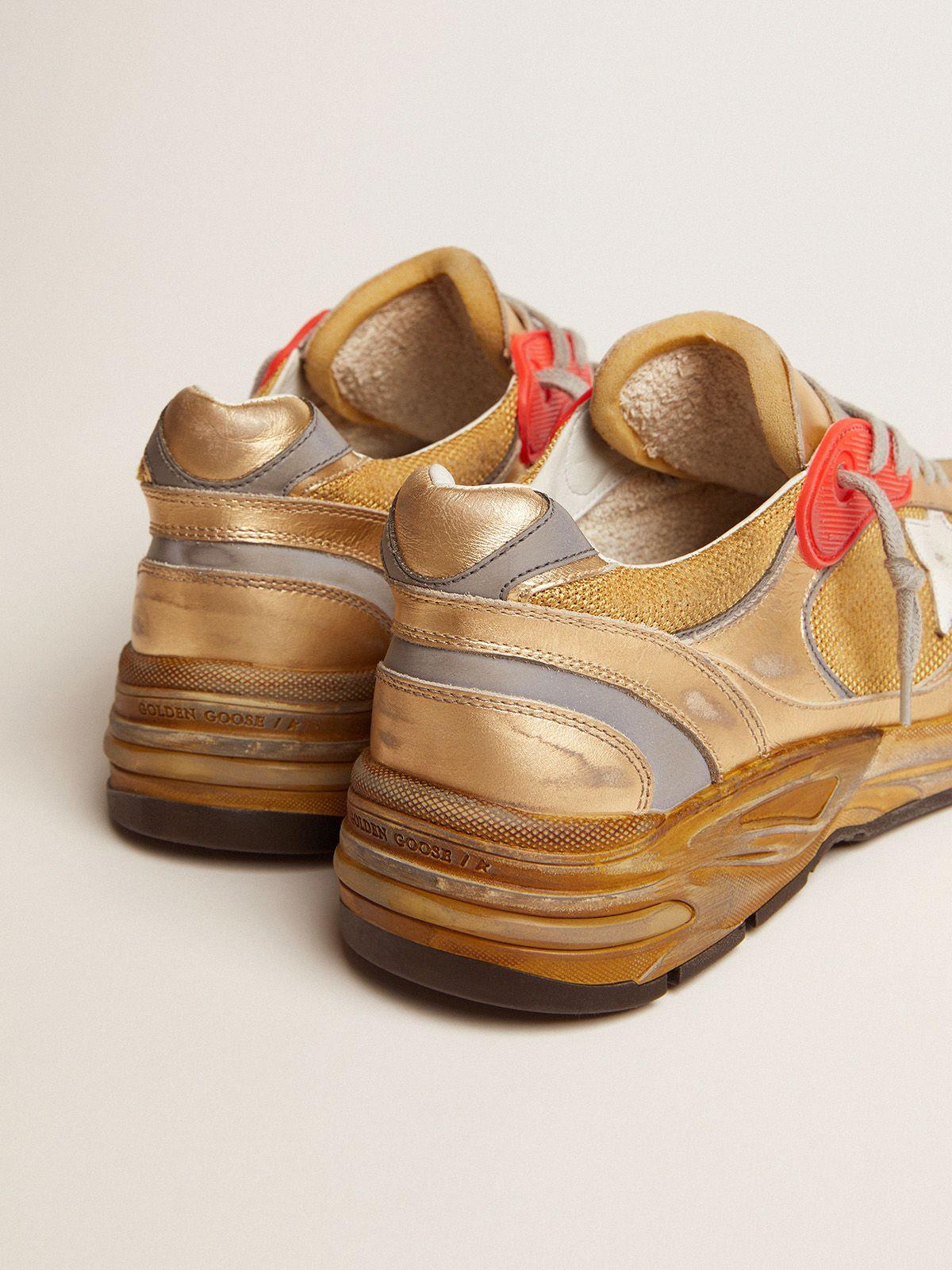 Golden Goose - Men's gold Dad-Star sneakers in