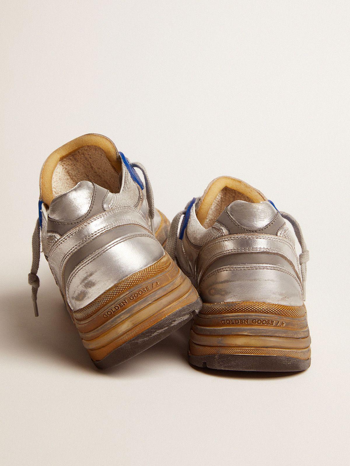 Golden Goose - Men's silver Dad-Star sneakers in
