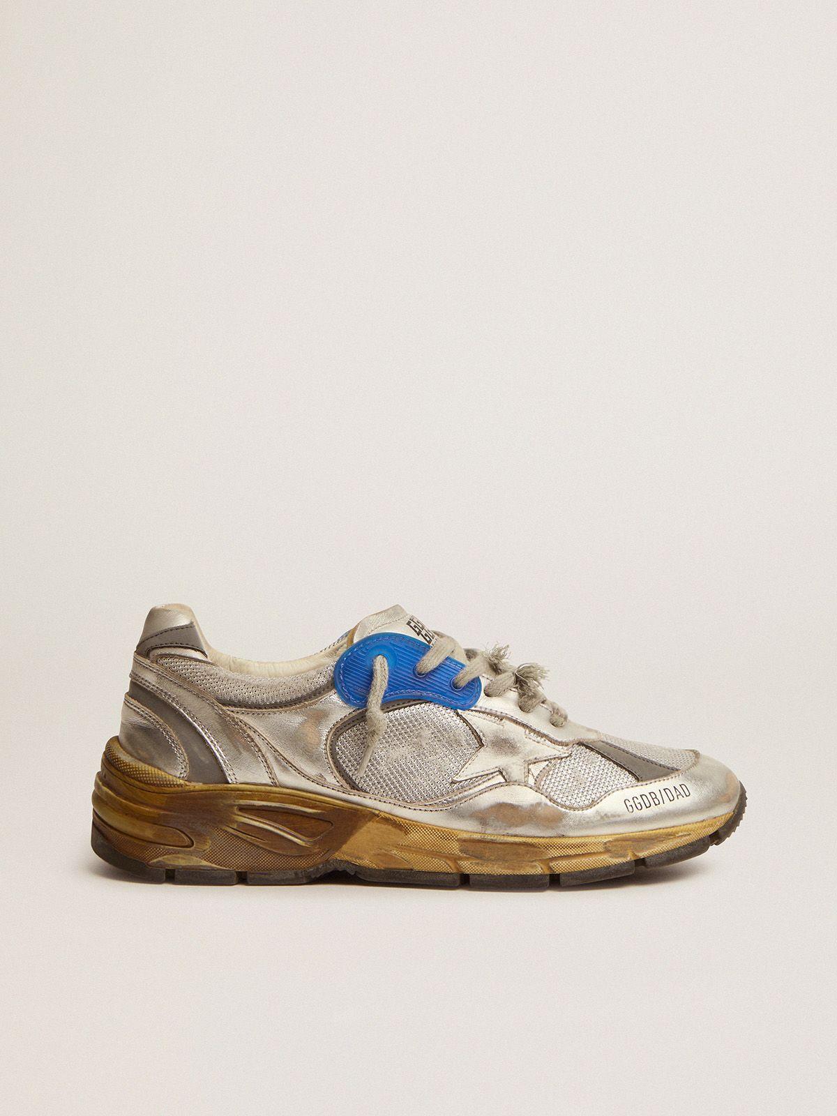 Women's silver Dad-Star sneakers