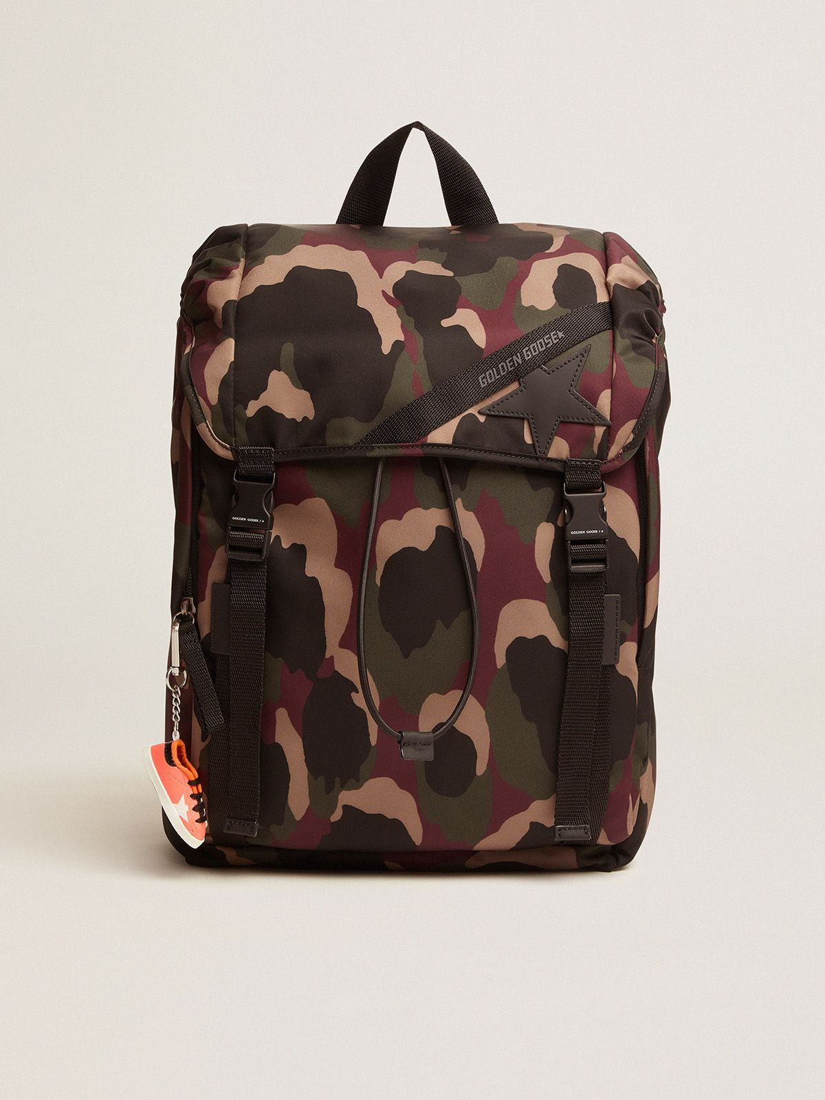 Zaino Journey in nylon camouflage