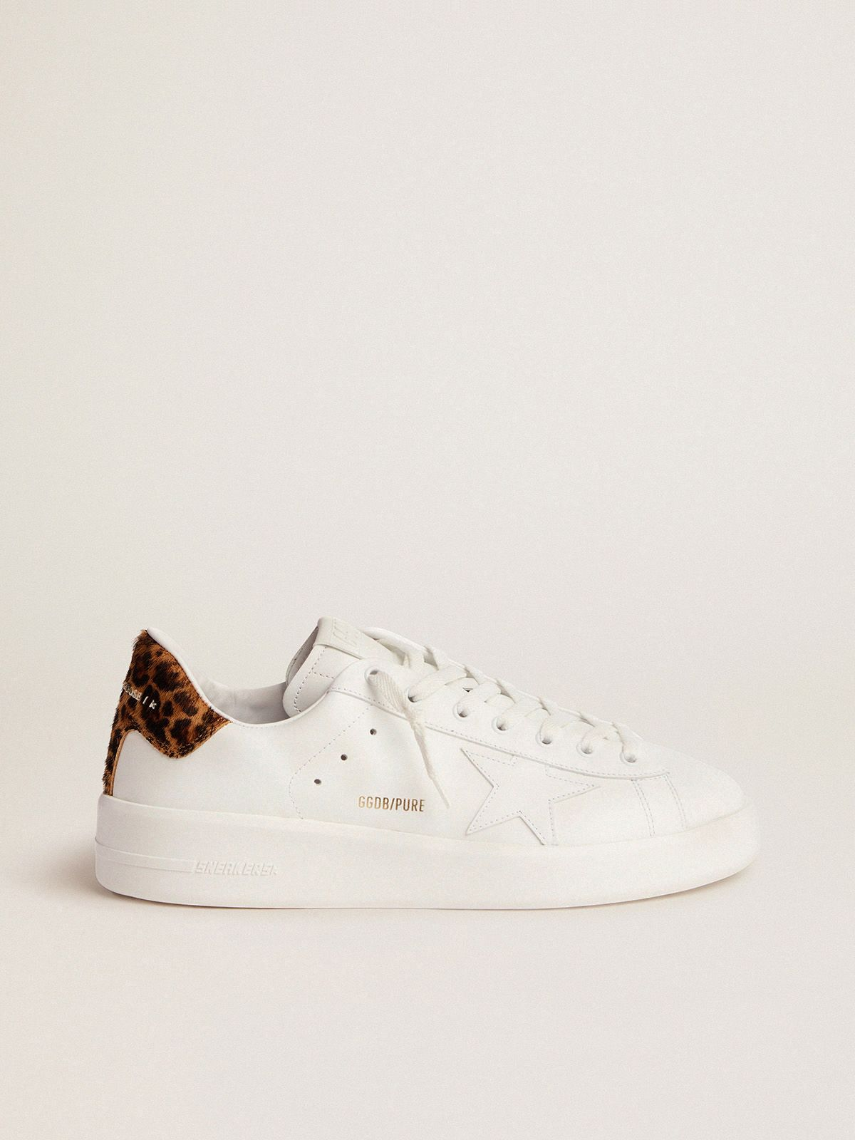 Men's PURESTAR sneakers with leopard-print heel tab