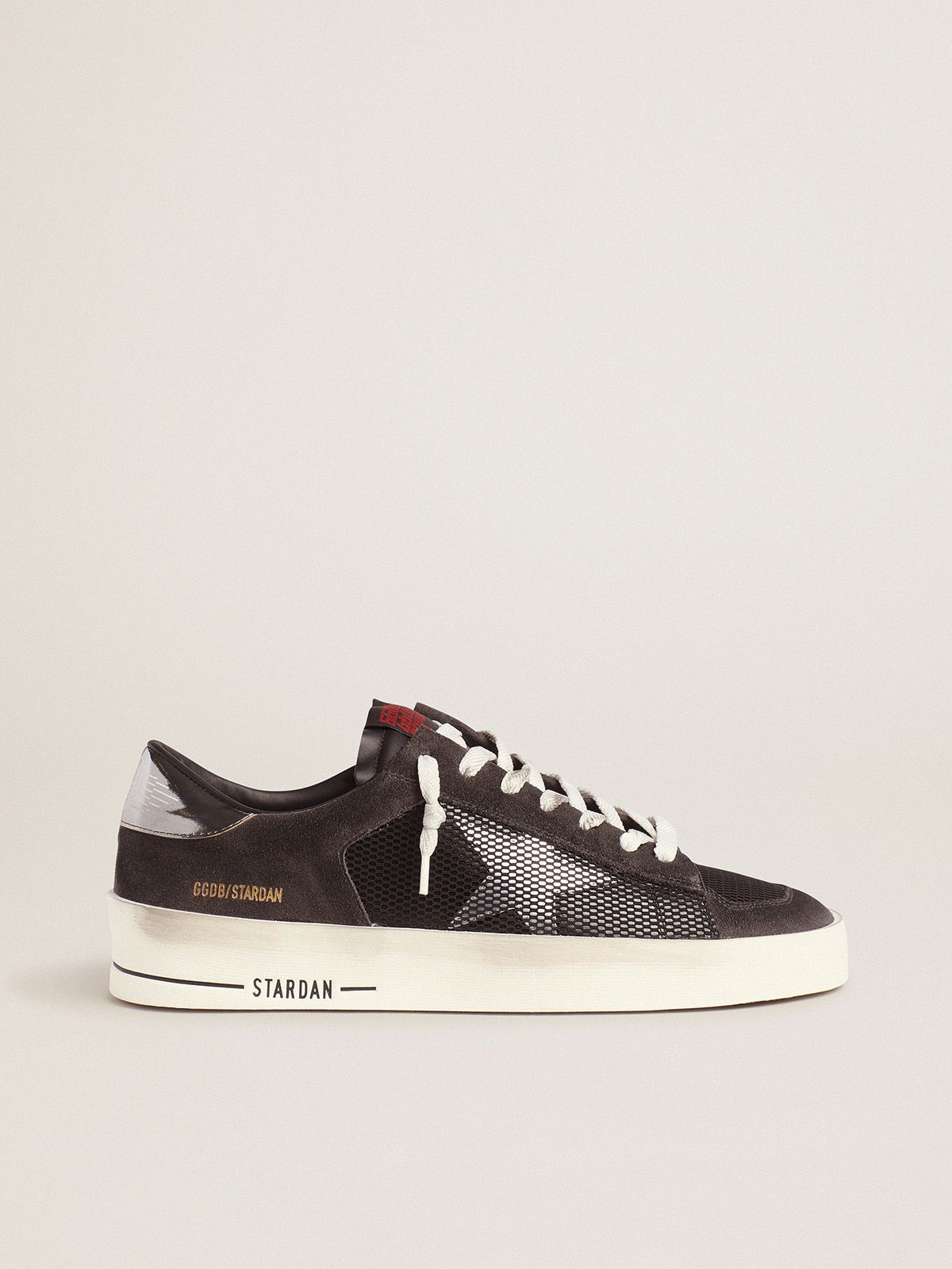 Black Stardan sneakers with metallic star
