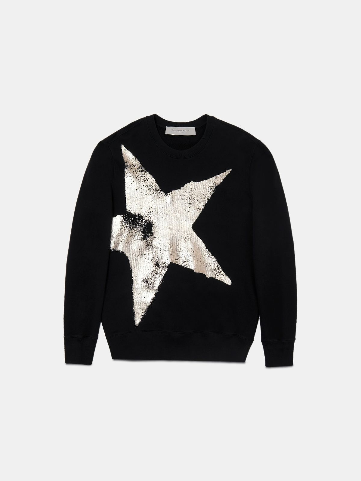 Archibald sweatshirt with gold star print