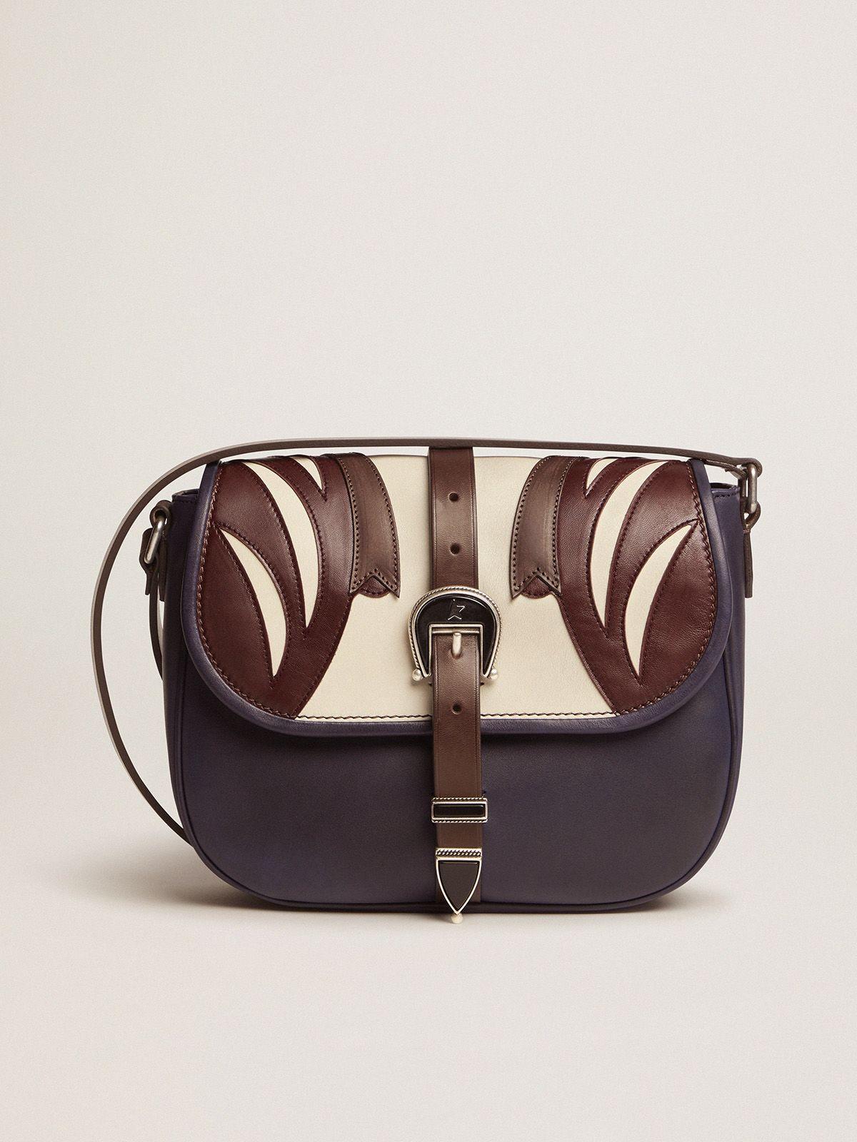 Medium multicoloured leather Rodeo Bag