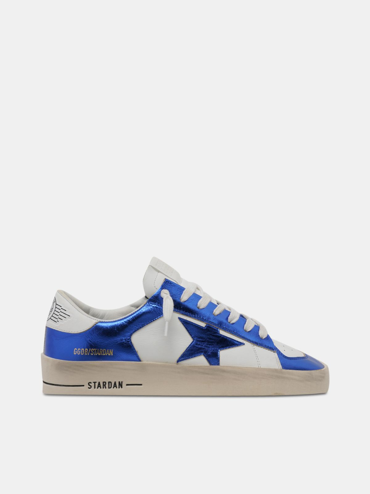 Women's blue and white Stardan sneakers