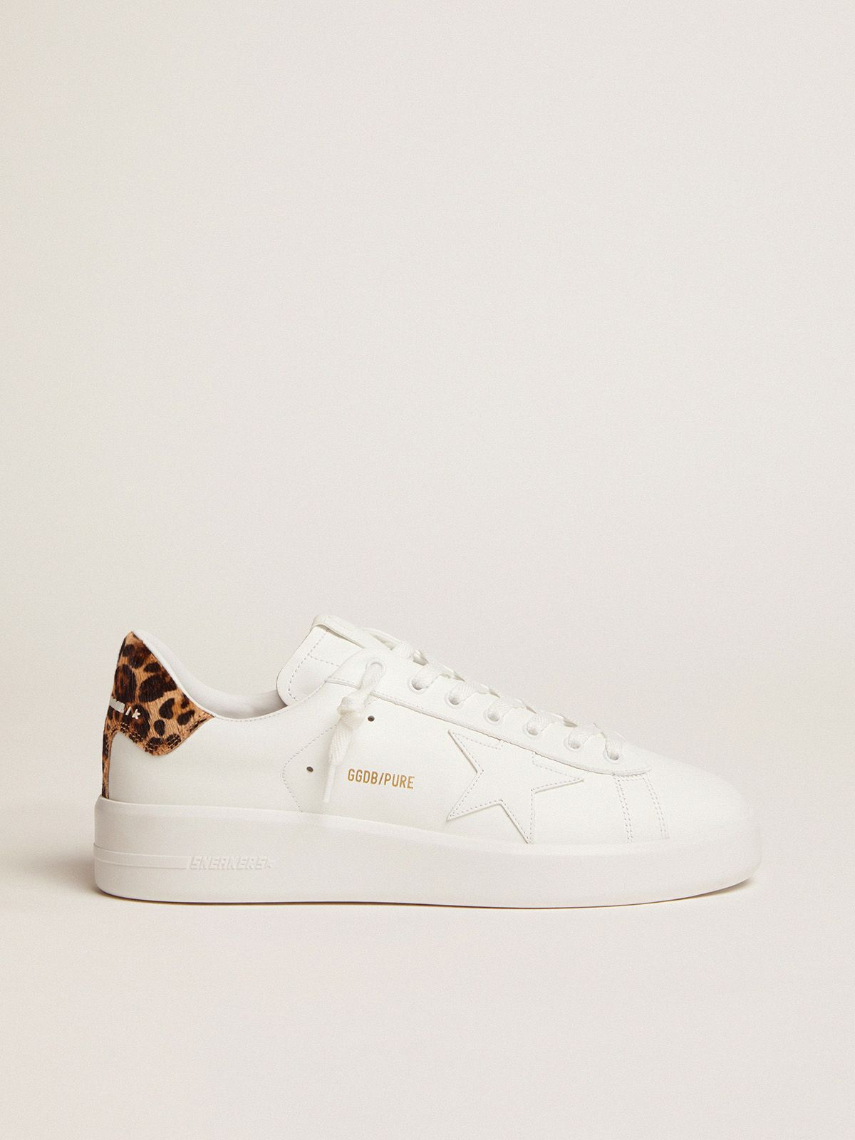 Women's PURESTAR sneakers with leopard-print heel tab