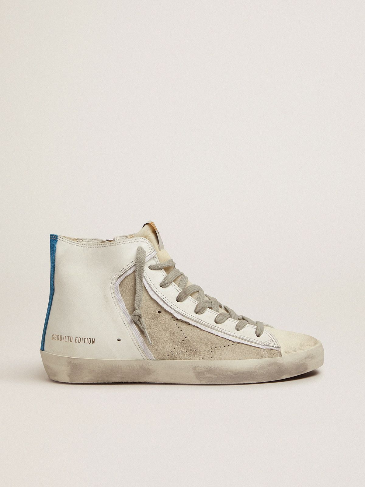 Golden Goose - Limited Edition donna Francy bianche e blu in